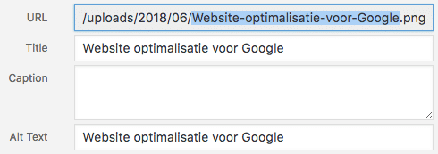 Optimaliseren website voor Google